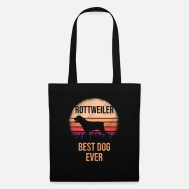 Birthday Greeting Rottweiler design For Dog Lovers Cute Dog - Tote Bag