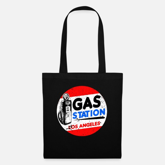 Diesel Bags & Backpacks - Gas station - Tote Bag black