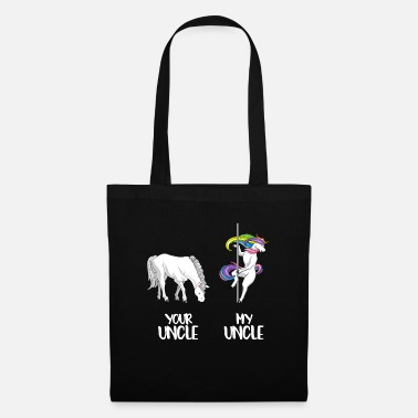 Uncle Your Uncle My Uncle LGBT Unicorn LGBTQ Gay - Tote Bag