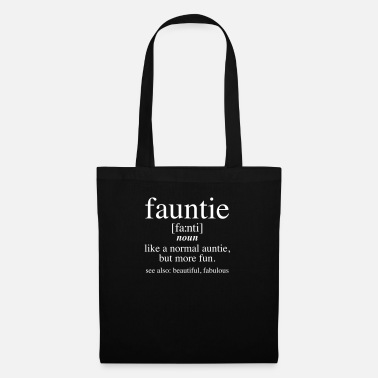Fauntie - The Fun Aunt - Stoffentas
