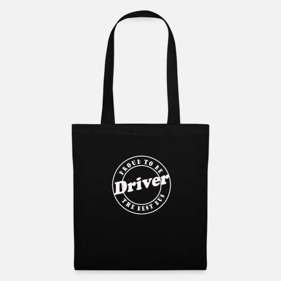 Driver Bags & Backpacks - Bus driver - Tote Bag black