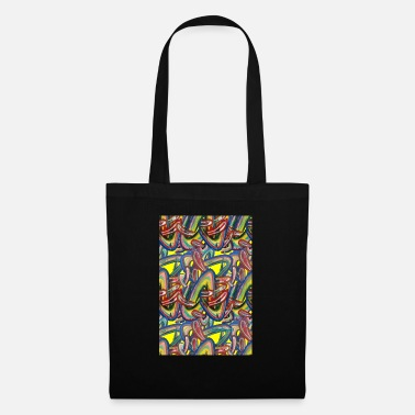 Quadrat 18 tapestry shapes - Tote Bag