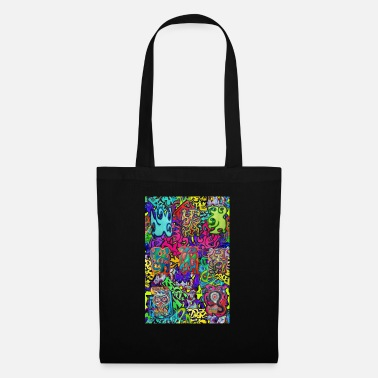 Graffiti graffiti 37 new 25 - Tote Bag
