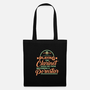 Wind Clarinet Wind Instrument Music Instrument Funny - Tote Bag