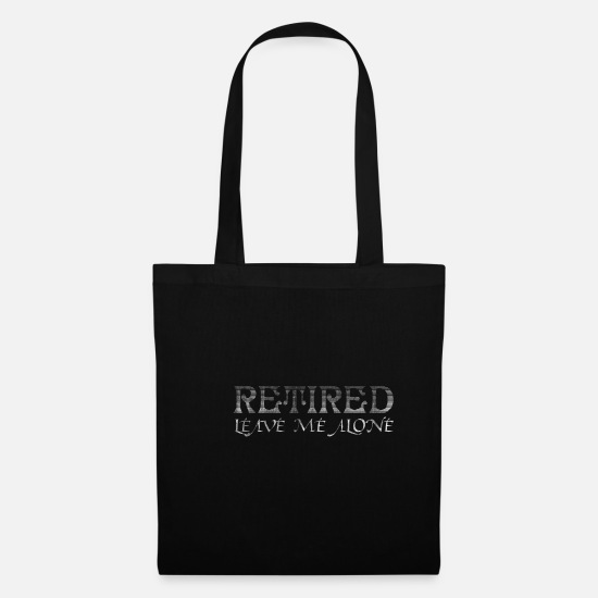 Travel Bags & Backpacks - Retirement hobby - Tote Bag black