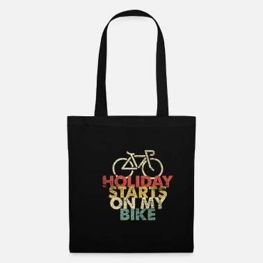 Evening Bicycle holiday - Tote Bag