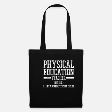 Recognition Physical education sports teacher - Tote Bag