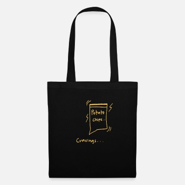Craving Fries Crave potato chips - Tote Bag