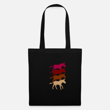 Pack Donkey animal - Tote Bag