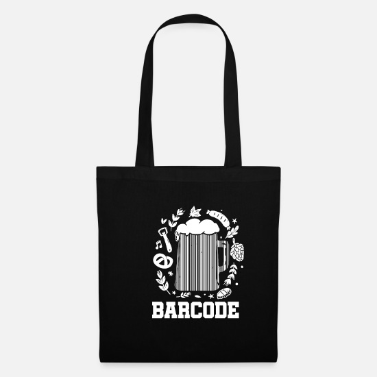Dublin Bags & Backpacks - Ireland beer barcode - Tote Bag black