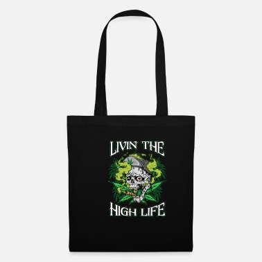 Best For Aunt LIVIN THE HIGH LIFE - Tote Bag