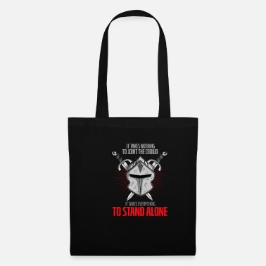 Middle Ages Knight Helmet Warrior Swordplay Medieval Festival - Tote Bag