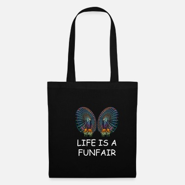 Life is a fun fair - Ferris wheel - Tote Bag