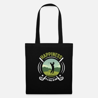 Putter Golf hole in one golfer golf player - Tote Bag