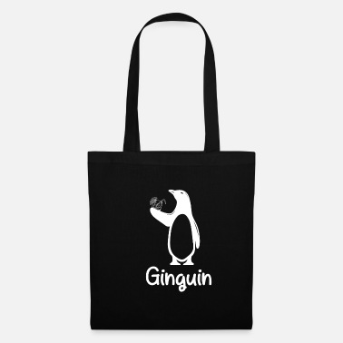 Gin Cocktail Party Alcohol Ginguin Gift - Tote Bag