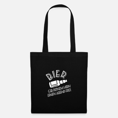 Beer Belly Beer - Free your brain for an evening - Tote Bag
