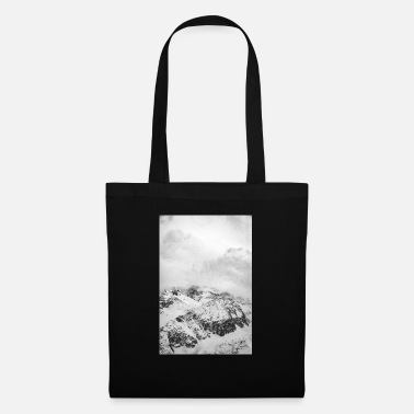 Foggy Mountains - Tote Bag