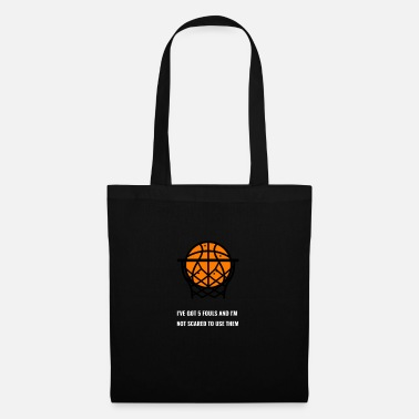 Foul Basketball foul - Tote Bag