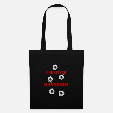 I survived MANNHEIM - Tote Bag