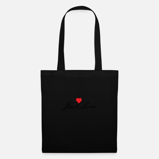 Love Bags & Backpacks - Just love - Tote Bag black