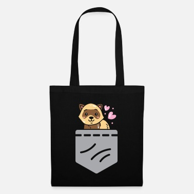 Otter Ferret Funny Animal Lover Furry Wildlife Gift - Tote Bag