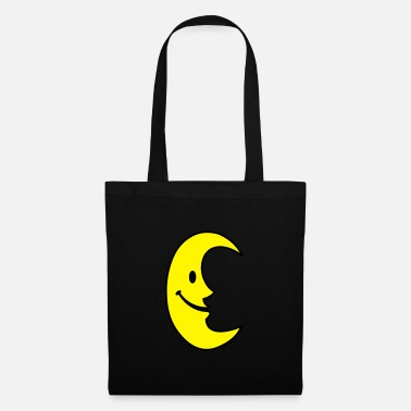 Stars Smiley Moon - Tote Bag
