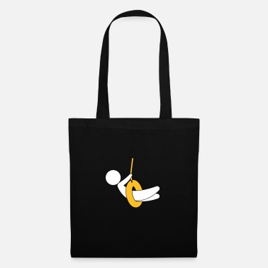 Children S Room Child On A Swing - Tote Bag