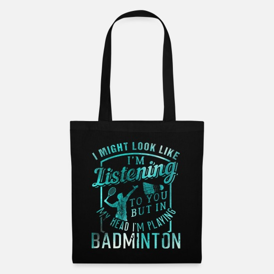 Badminton Bags & Backpacks - Badminton badminton - Tote Bag black