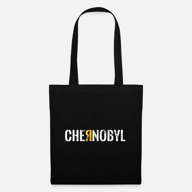 Nuclear Chernobyl atom radioactive radiation gift - Tote Bag
