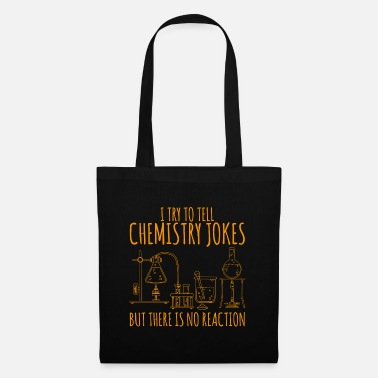 Cool Quote Chemistry flask laboratory saying gift - Tote Bag