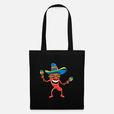 Funny Mexican Mexican Chili Pepper Funny Mexican - Tote Bag