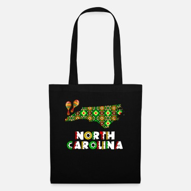 Skull Cinco De Mayo North Carolina - Tote Bag