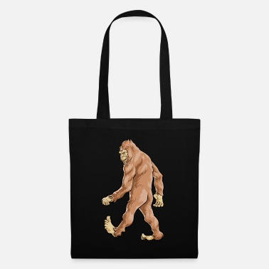 Sasquatch Bigfoot Sasquatch - Tote Bag