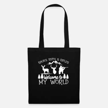 Stag Hunt Hunter Wild Forest Hunt Deer Nature Gift - Tote Bag