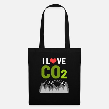 Carbon Dioxide Co2 carbon dioxide - Tote Bag