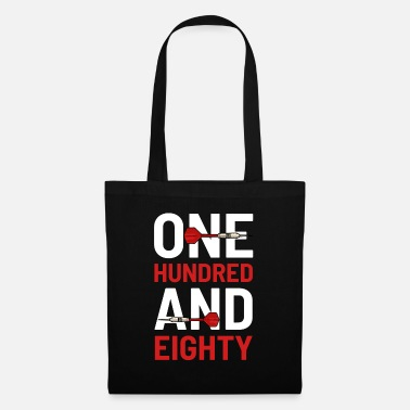 Hundred Dart Player 180 - Tote Bag