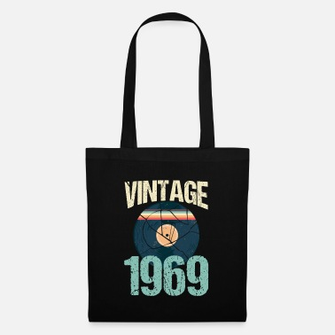 Celebrities Retro Vintage 1969 50th Birthday Record Vinyl - Tote Bag