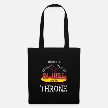 Throne Throne In Hell - Tote Bag