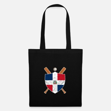 Easter Island Dominican Republic Flag Domrep Baseball - Tote Bag