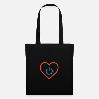 Segno power of love v3 - Borsa di stoffa