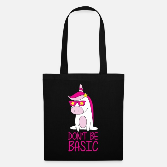 Sunglasses Bags & Backpacks - Dont Be Basic - Tote Bag black