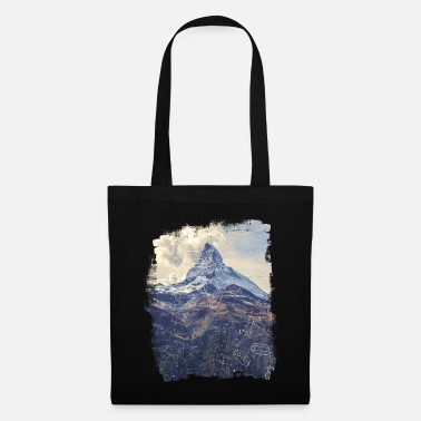 Nature Collection V2 Mountains & Diamonds - Tote Bag