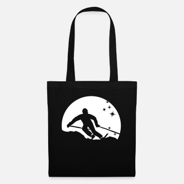 Ski Resort ski resort skies ski area skiing - Tote Bag