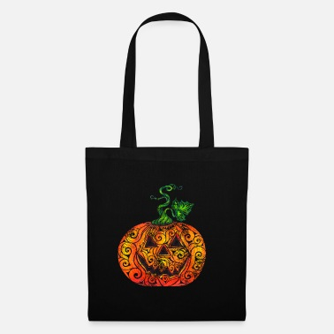Pen Swirly Pumpkin - Tote Bag