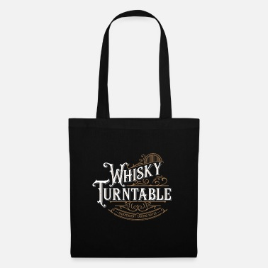 Whiskey Turntable - Victorian Style - Tote Bag