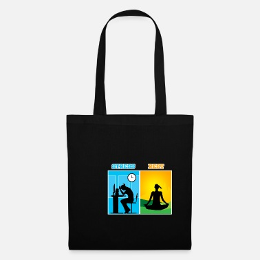 Shirty38 Stress & rest - Tote Bag