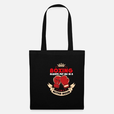 Fighter Jet boxing always put me in a better mood - Tote Bag