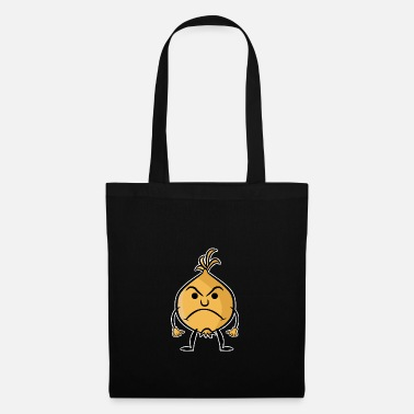 Vector Onion Sour Angry Colored Vector Emotion - Tote Bag