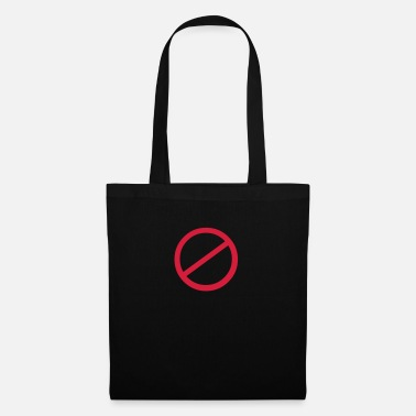 Sign NO sign - Tote Bag