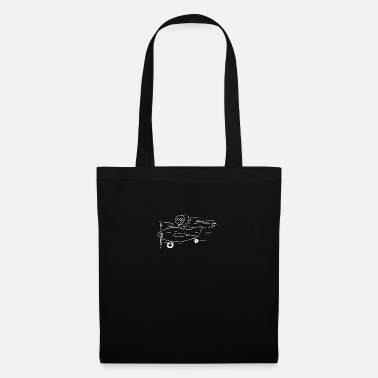 Stick Figure Air sports are just beautiful - Tote Bag